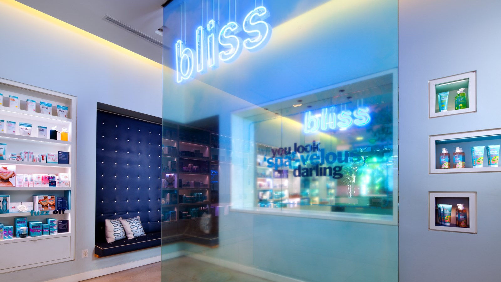 Hotel Features - Bliss Spa